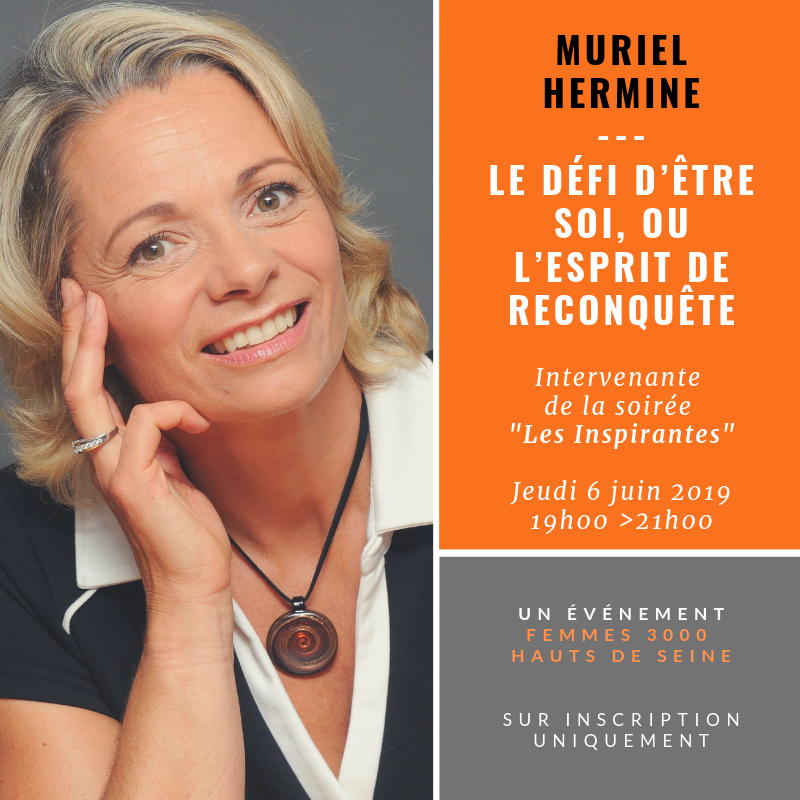 Le défi d'être soi par Muriel Hermine