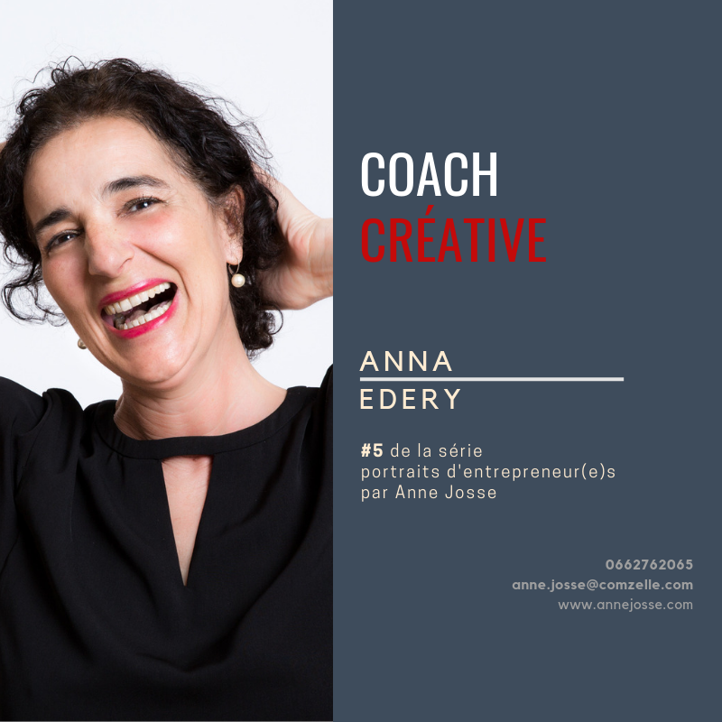 Anna Edery coach, facilitatrice, formatrice de Souriez Vous Managez