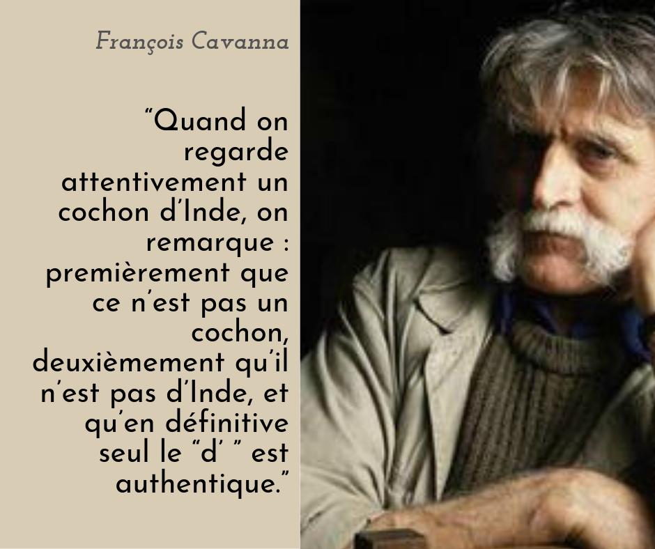 l'authenticité selon François Cavanna