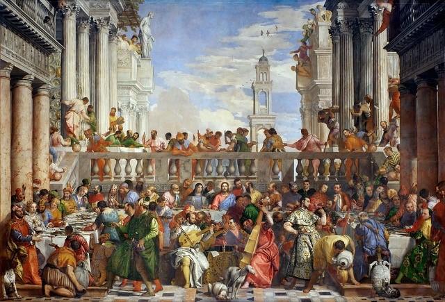 Les Noces de Cana - Paul Véronèse Musée du Louvre
