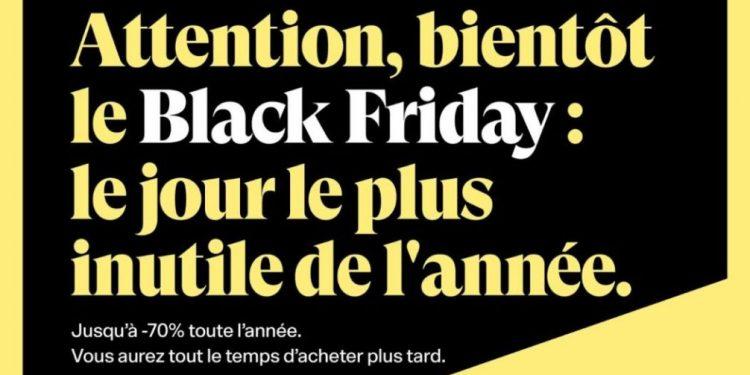 black friday publicité 2019