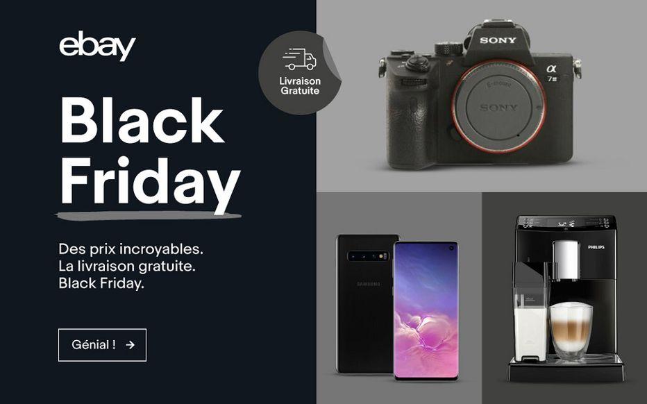 black friday et ventes de produits électroniques high tech
