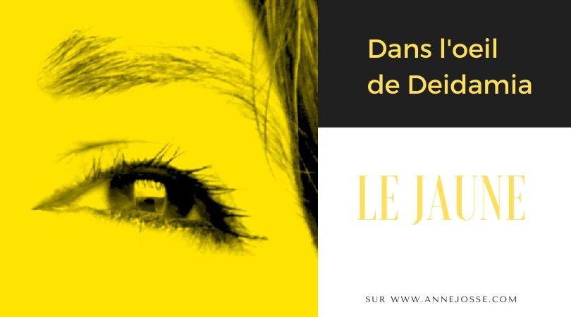 dasn l'oeil de deidamia le jaune