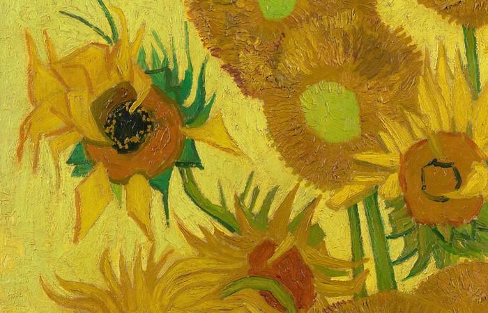 le jaune des tournesols de Van Gogh