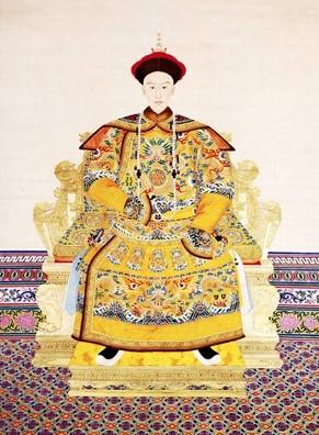 la couleur jaune et l'influence de la chine