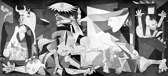 Peinture Guernica de Picasso