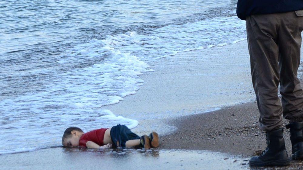 photo sur l'immigration et boat people AFP