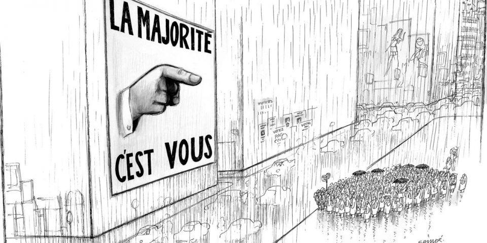 illustration de Jean-Jacques Sempé