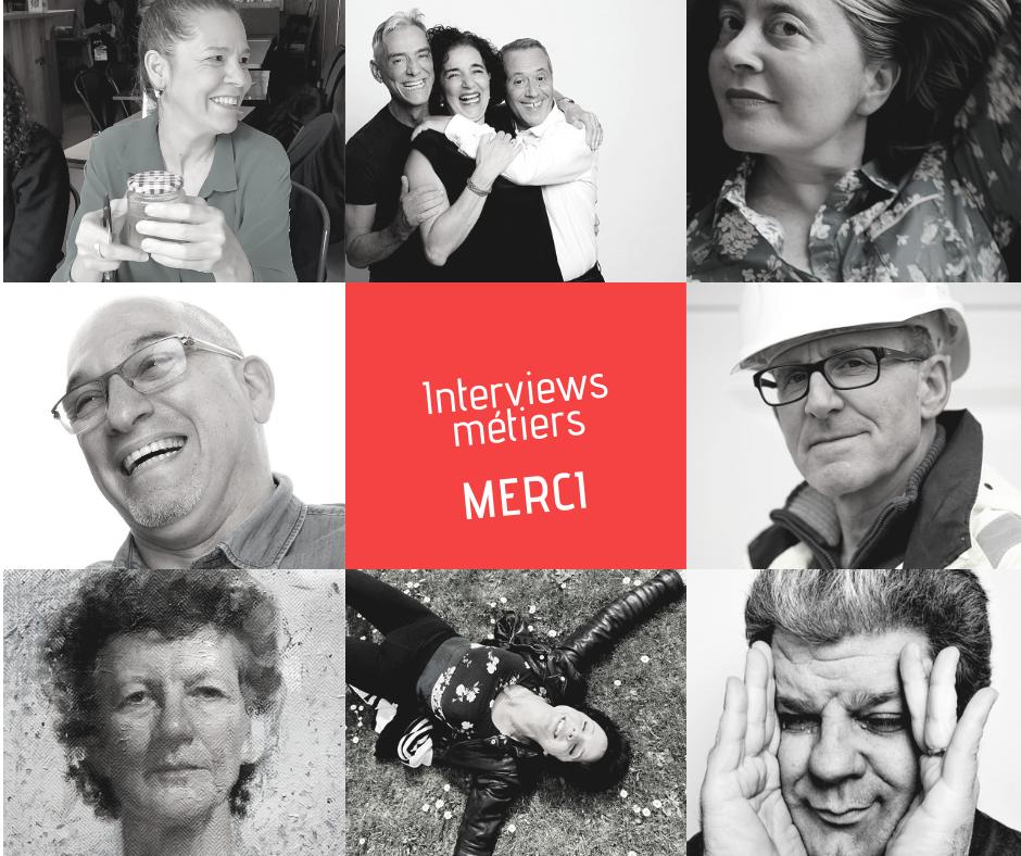 interviews métiers par Anne Josse