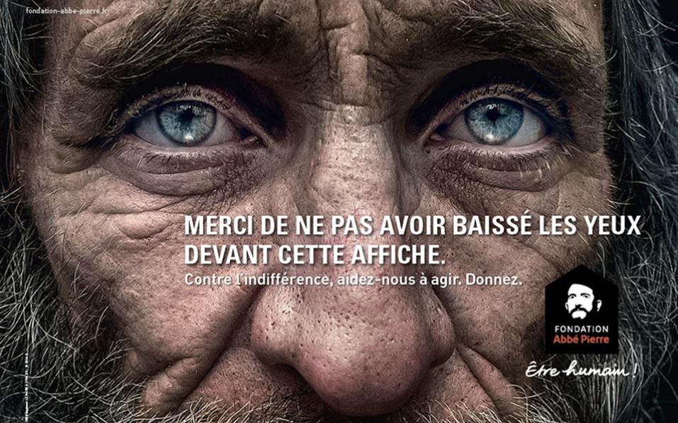 affiche Fondation Abbé Pierre